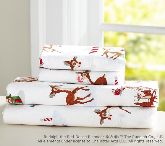 Rudolph Bed Sheets Pottery Barn Kids Bedding