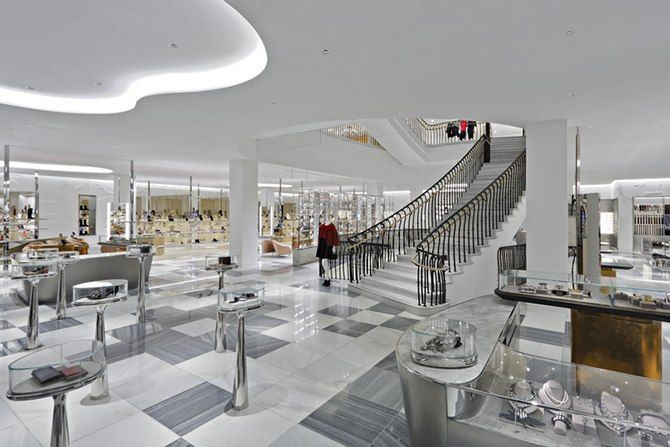 Barneys New York's Beverly Hills store reopens with a stylish new look
