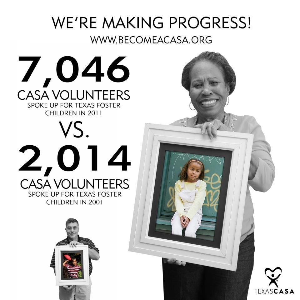 Our goal is a CASA for every child. We can make this goal