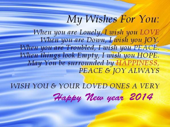 wishing you and your loved ones a very happy new year