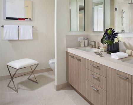 HOME DZINE Home DIY   How to make a bathroom vanity
