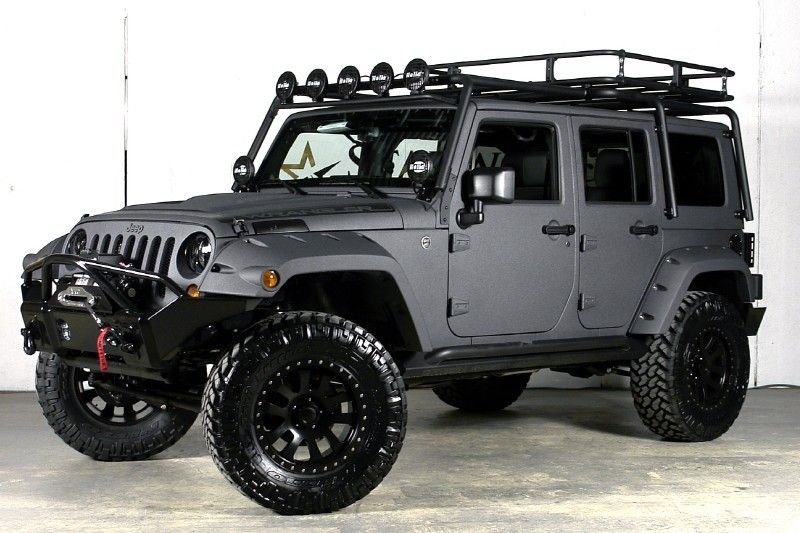 Matte grey works too. This is a solid Jeep and your