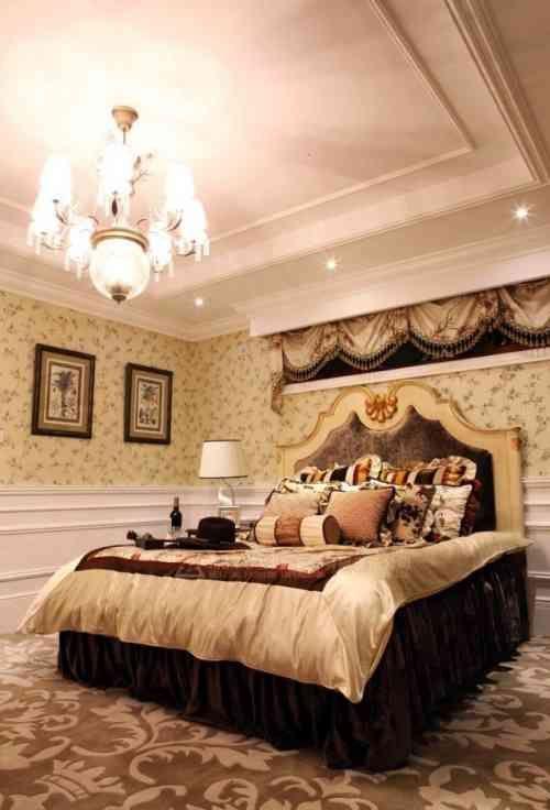Faux plafond moderne dans la chambre à coucher et le salon Pinterest