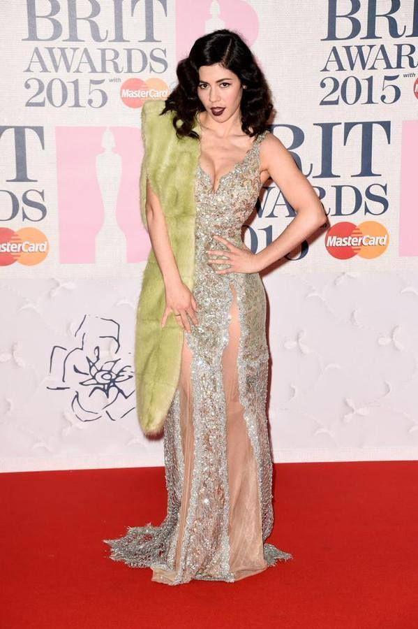 Marina and the Diamonds Brit Awards 2015