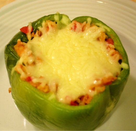 Grant Ever After: p90x -Approved Stuffed Peppers