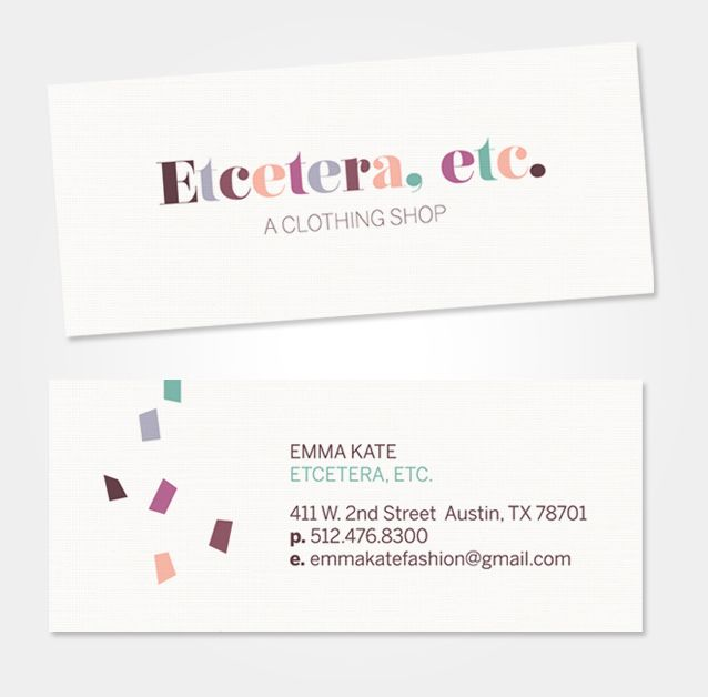 Invitations Cards Bri Emery Business Card Inspiration Logo