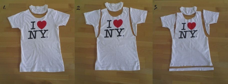Diy Muscle Tee From An Old Tshirt For Boys And Girls T Shirt Diy Diy Shirt Diy Clothes