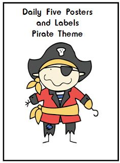 Ahoy Matey Daily Five Pirate Theme Fourth Grade Pinterest
