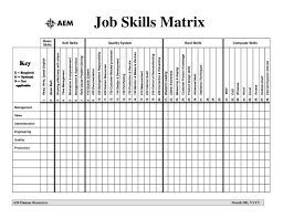 Image Result For Skills Matrix Template Excel