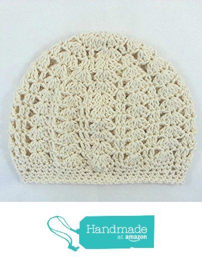 e005d28ed12 Organic Cotton Slouchy Beanie Womens Crochet Made in USA from Darlene s  Gift Shop https