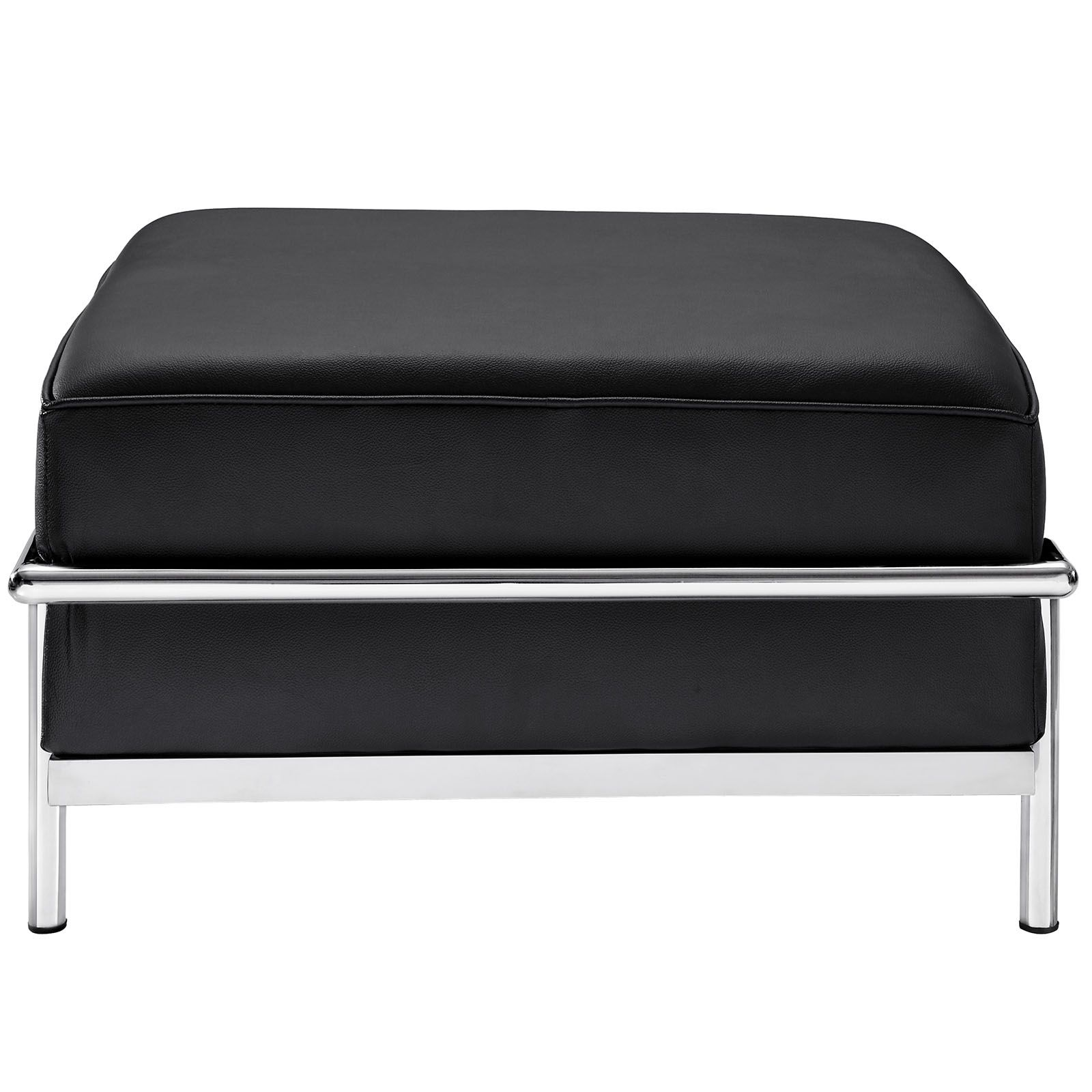 le corbusier style lc3 ottoman leather