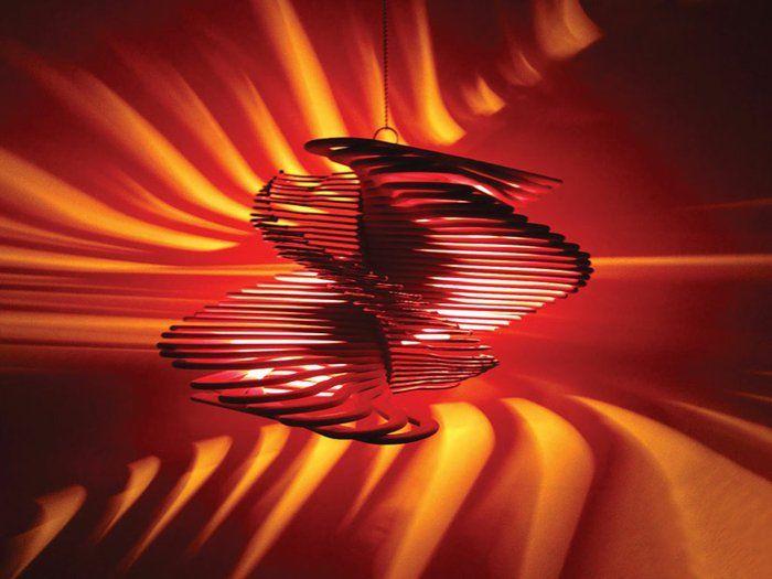 diy lampe 59 fantasievolle ideen f r echte individualisten lampen pinterest diy lampe. Black Bedroom Furniture Sets. Home Design Ideas