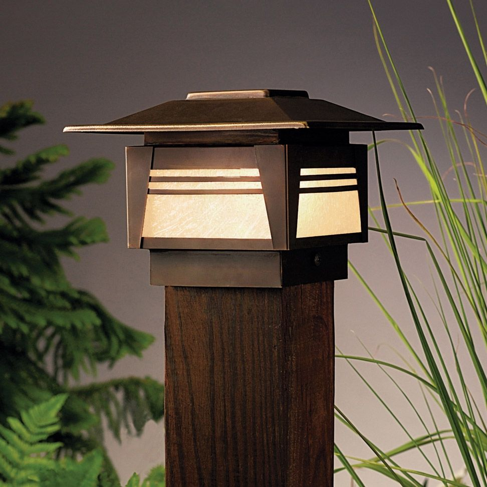 12 volt led deck post lights httpscartclub pinterest kichler zen garden post light installing landscape lighting is easy but keep in mind that it requires more than just the lighting fixtures arubaitofo Image collections