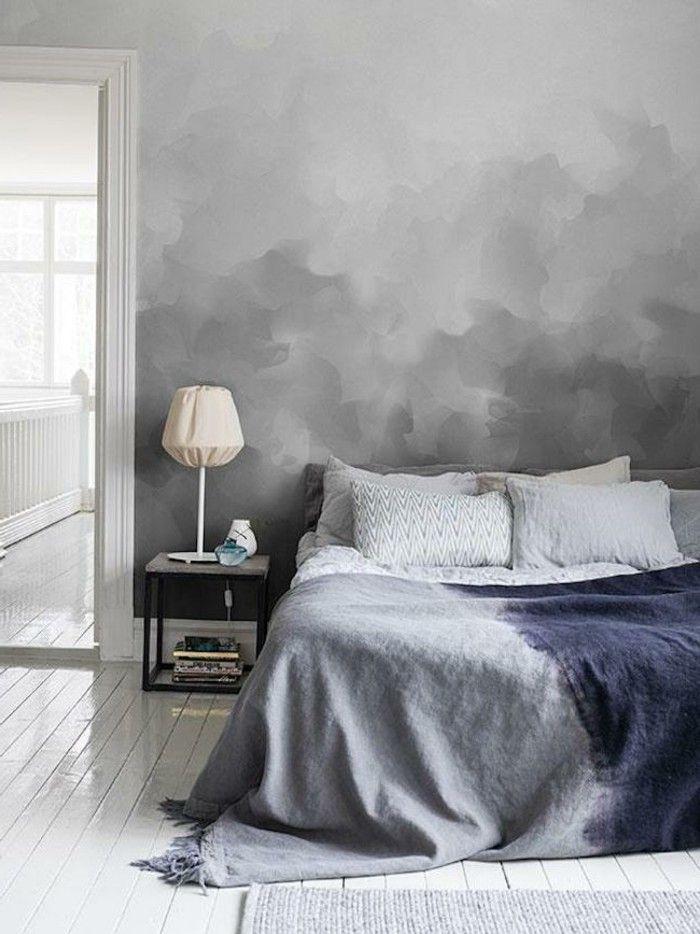 50 Beruhigende Ideen Fur Schlafzimmer Wandgestaltung Akzent Wand