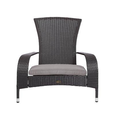Patiosense Coconino Wicker Adirondack Chair Wicker Lounge Chair Chair Wood Adirondack Chairs