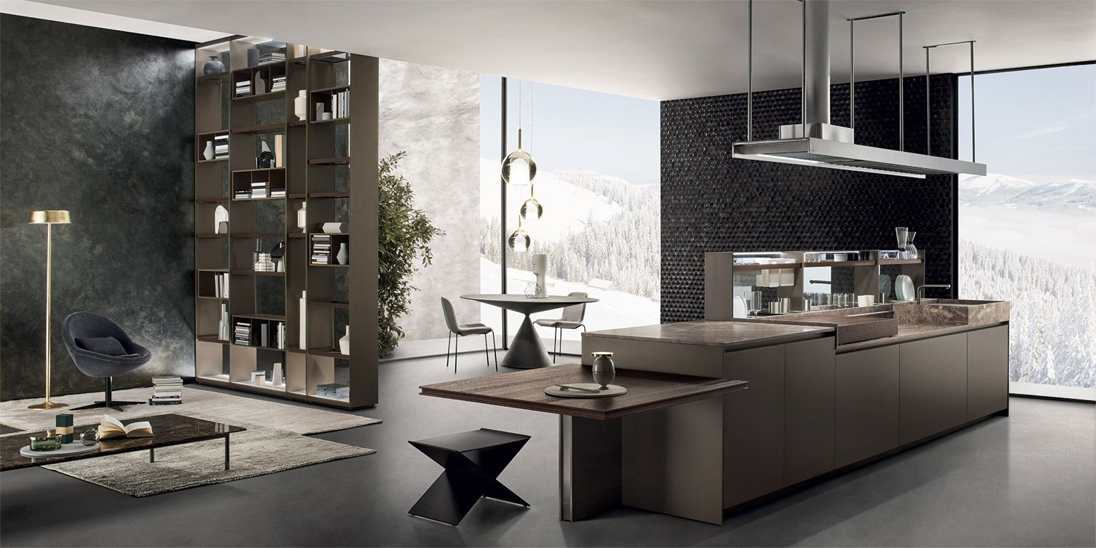 italian modern design kitchens - barrique by ernestomeda | cocinas ... - Ernestomeda Barrique