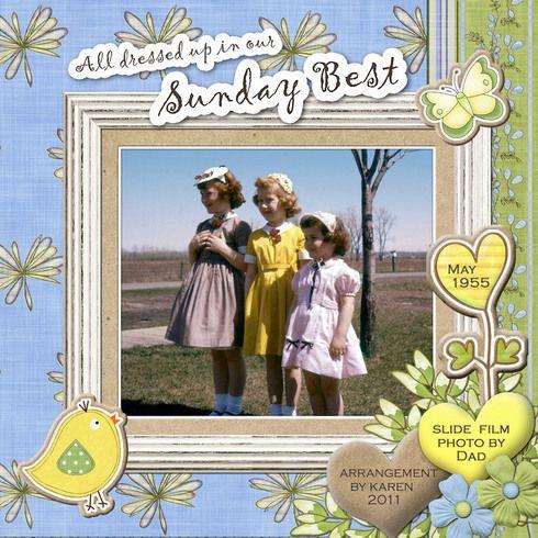 Sunday Best 1955, layout by EyesForBeauty
