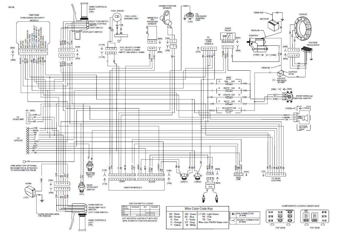 Harley Davidson Heritage Softail Wiring Diagram