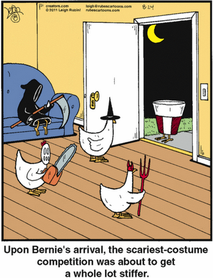 Captivating Halloween Funnies   Costume Party, I Just Love Chicken Jokes   My Favorite  Topic