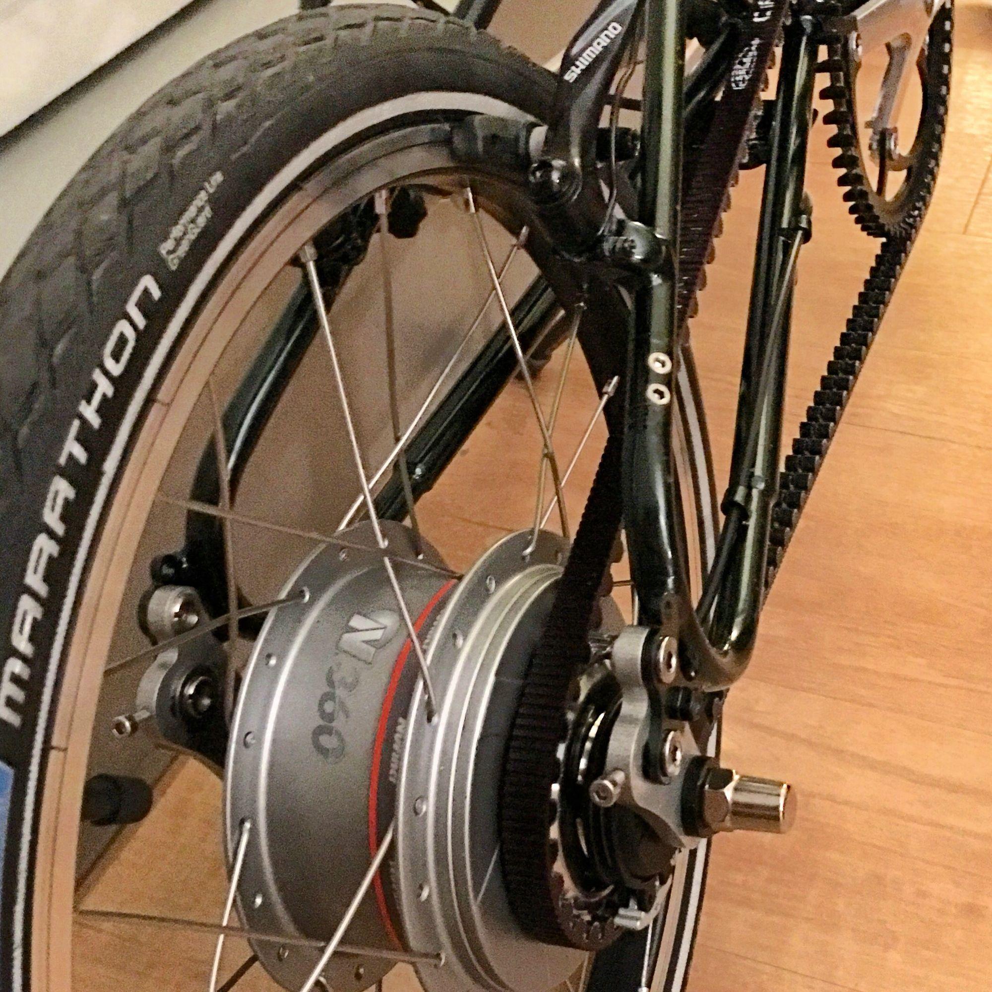 Bike Friday Tikit Gates Carbon belt drive and Nuvinci N360 transmission 02abd187c