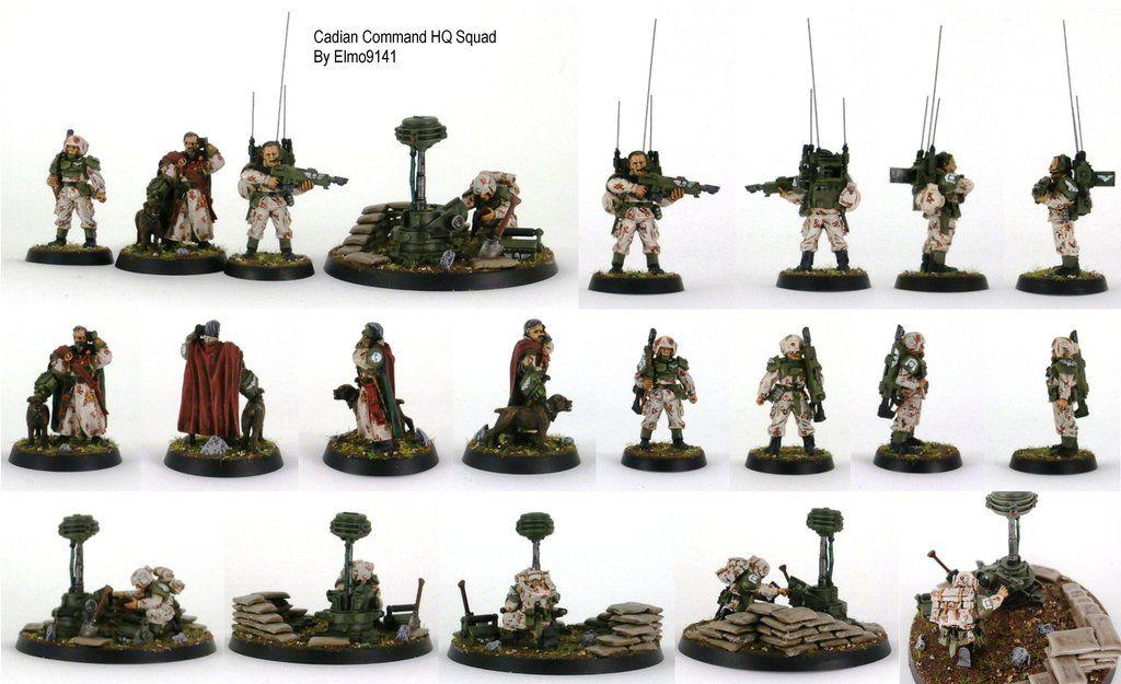 Custom Imperial Guard Astra Militarum Hellhound Squad