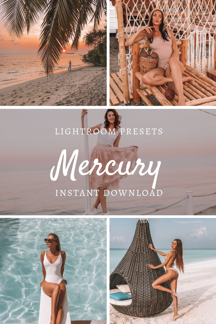 Mobile Lightroom Preset MERCURY Travel Outdoor Warm Tan Blogger