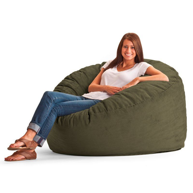The Fuf Corduroy Bean Bag Is Made For Todays Living Rooms Bedrooms And Family Gone Are Days Of Flat Shapeless Bags This Resilient Seating