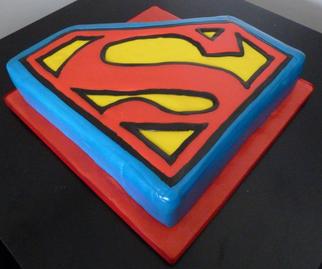 Cool superman symbol template pictures inspiration entry level the man of steel would probably eat a superman birthday cake in buycottarizona Gallery