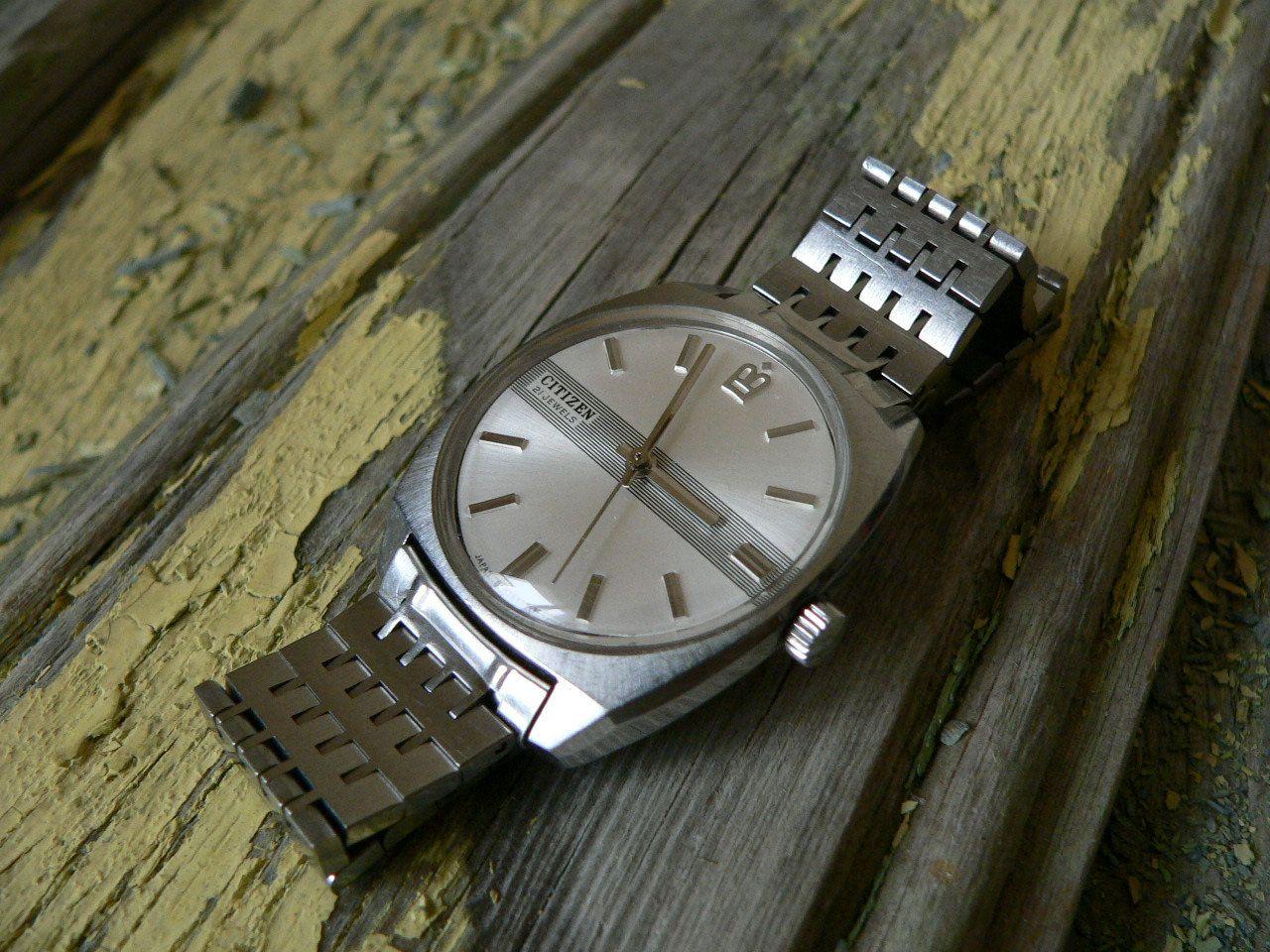 vintage citizen 21 j manual wind men s japan watch 70 s serviced rh pinterest com citizen watch manual e650 citizen watch manual e820