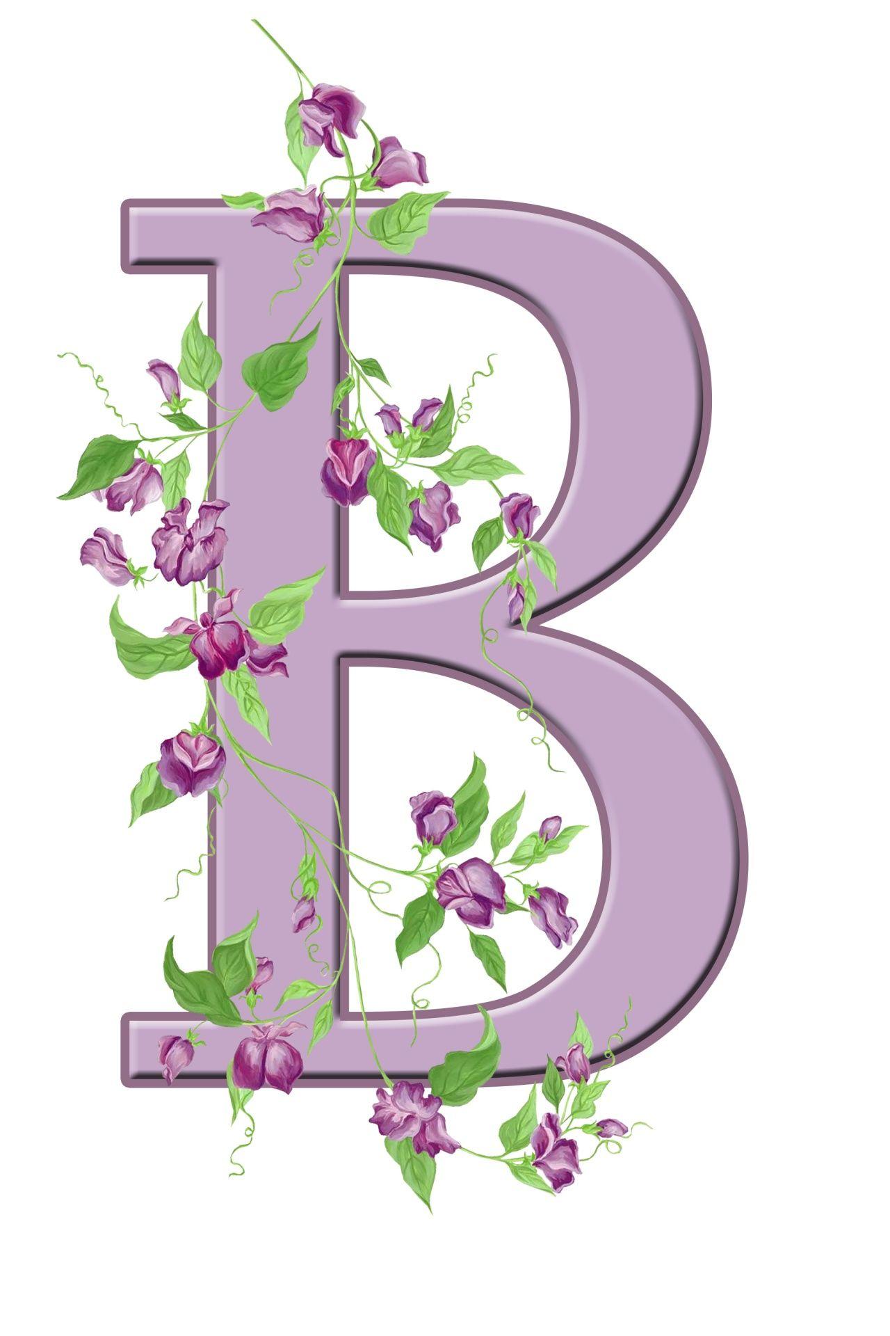 B&q Kitchen Tiles Ideas Part - 23: Buchstabe / Letter - B (Blumen / Flowers)