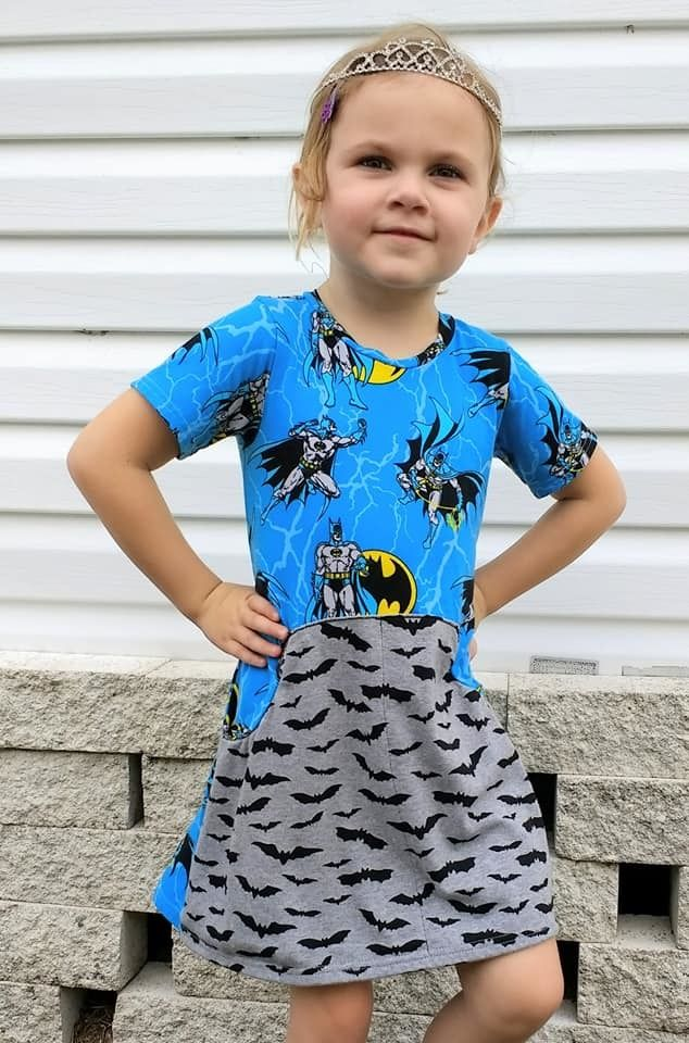 Girl\'s Be Independent Dress, Skirt & Shorties PDF Sewing Pattern by ...