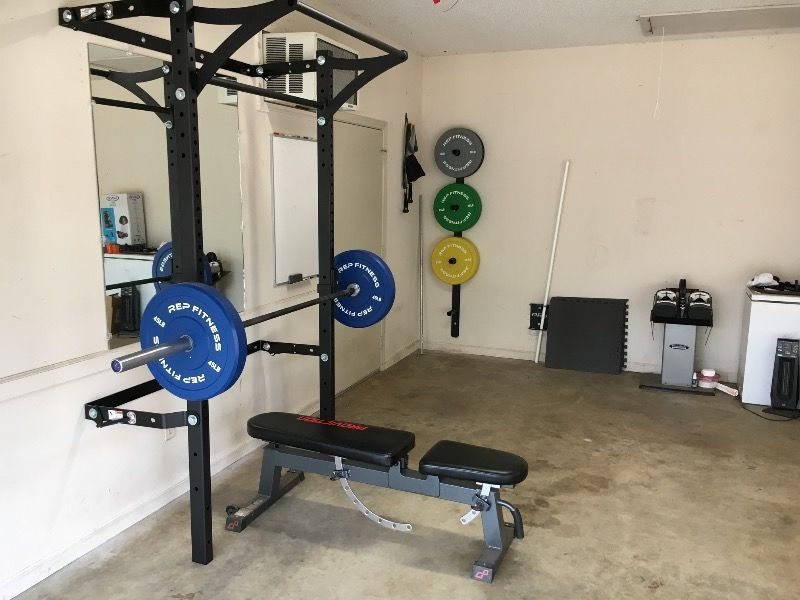 Fold Away Design Requires No Disassembly Our Patented Wall Mounted Folding Profile Squat Rack With Kipping Bar Is The Most C Squat Rack At Home Gym Home Gym