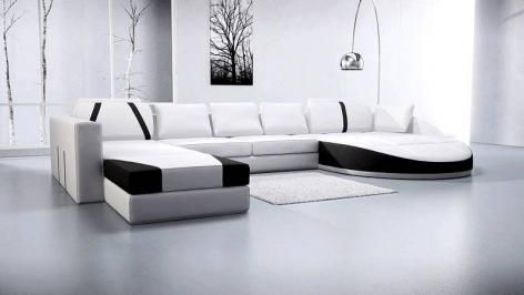 Hemnes Large Leather Corner Sofa With Images Latest Sofa Designs Sofa Design Leather Corner Sofa