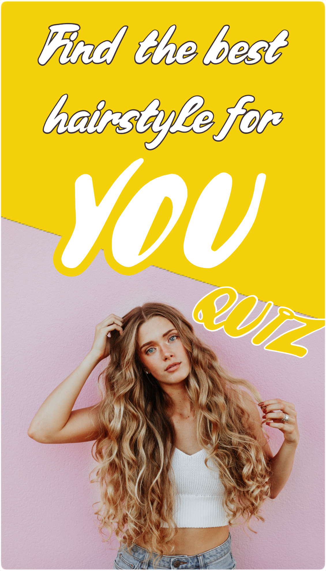 Best Hairstyle QUIZ for girls  Hair Ideas in 4  Cool
