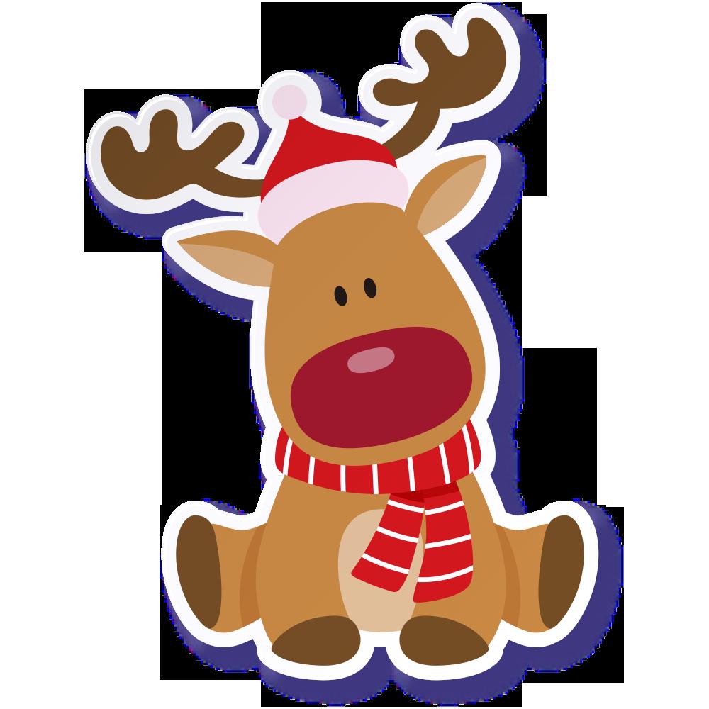 Картинка рождественские олени