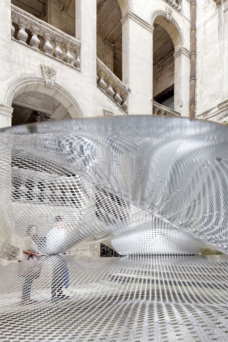 Floating Cloudscape Sculpture By Fakt
