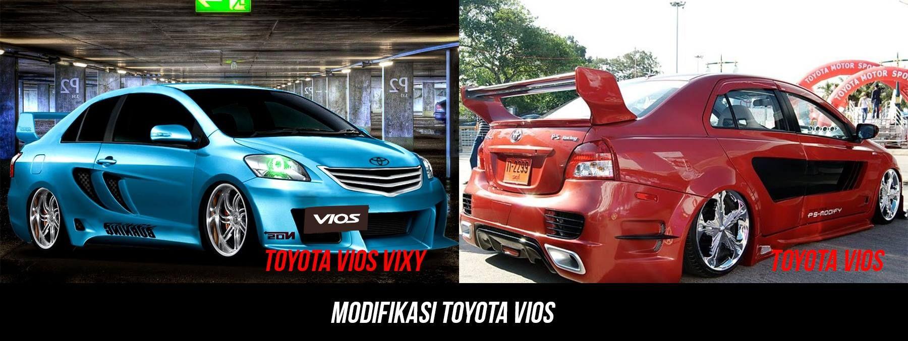 Modifikasi Warna Mobil Toyota Vios Modifikasi Mobil Mobil Mobil Balap