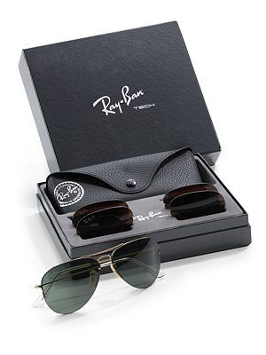 7cfffd7b668 Ray Ban Interchangeable Lens Aviator Sunglasses is something you can never  go wrong with!