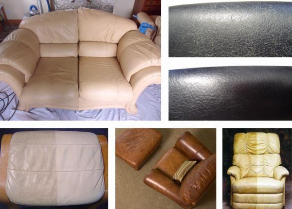 Organic Leather Sofa