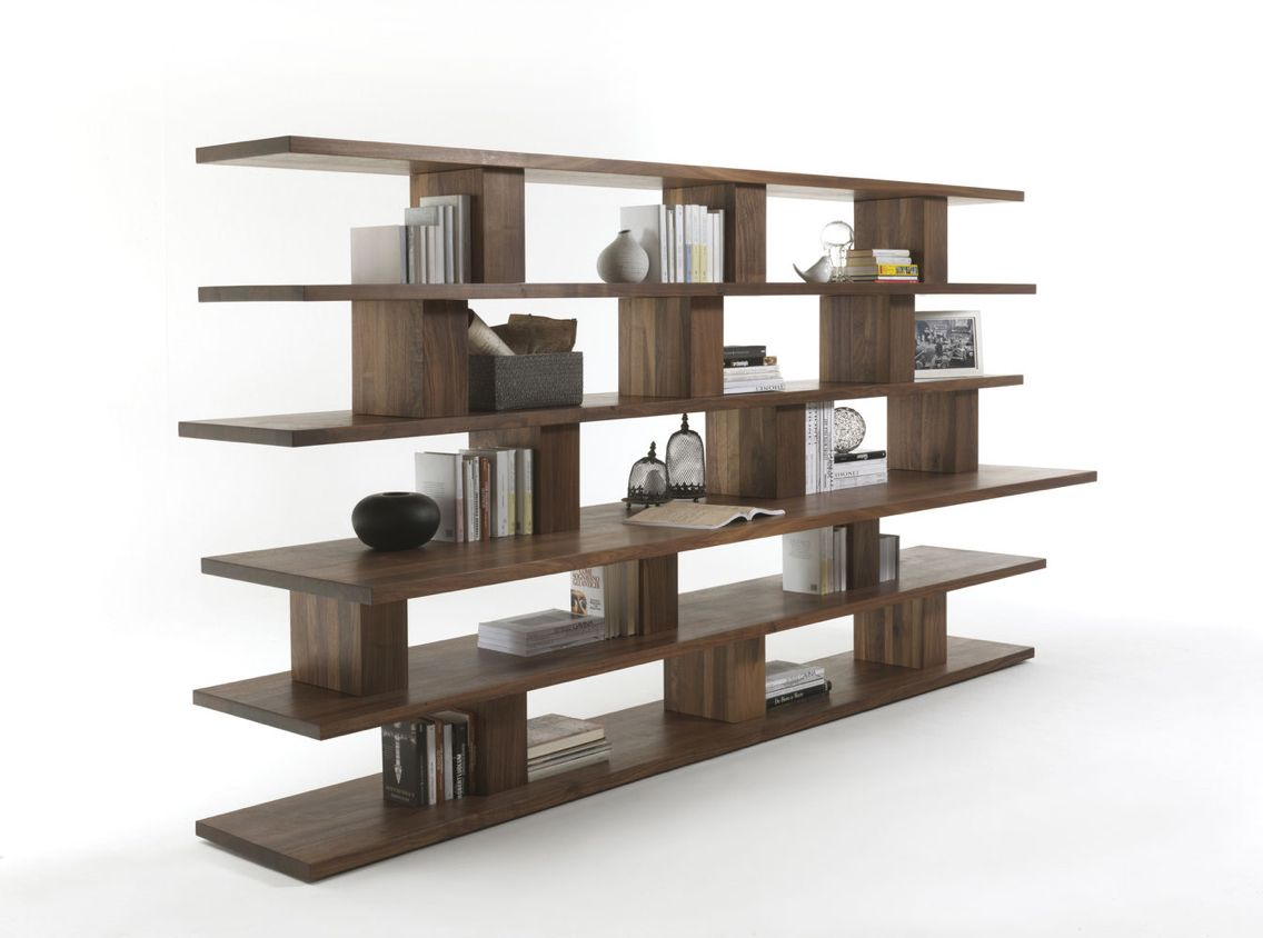 Librero Bookshelf Dise O De David Chipperfield Para Riva 1920 En  # Muebles Santa Fe