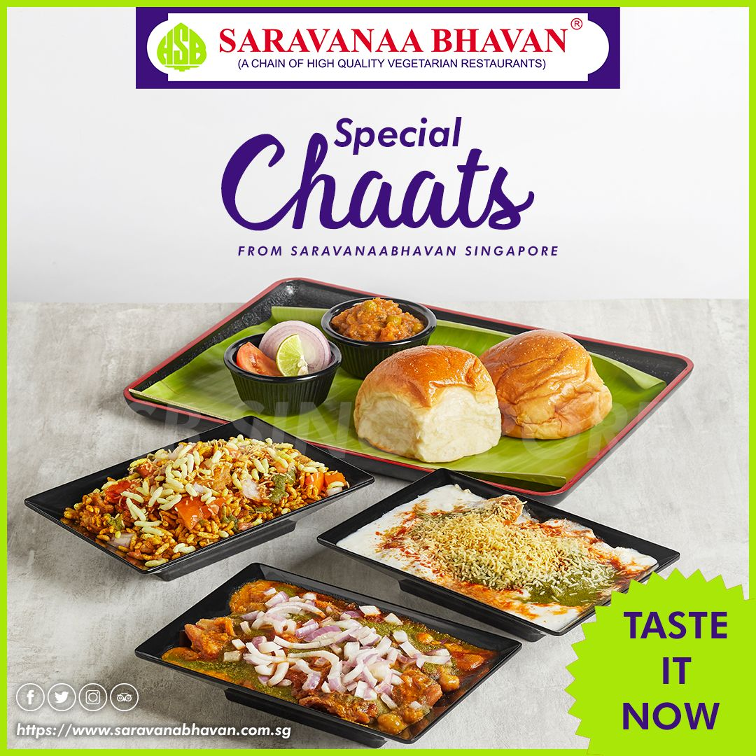 Special And Tasty Chaats To Perfection For The Chaat Lovers Saravanaabhavansg Special Chaats Chaatlover Food Indian Food Recipes South Indian Food Food