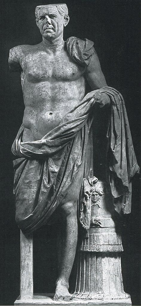 Portrait Of A Roman General From The Sanctuary Of Hercules