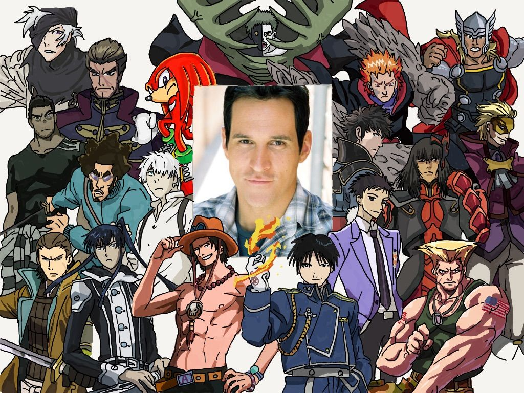 Image result for travis willingham characters | Voice Actors