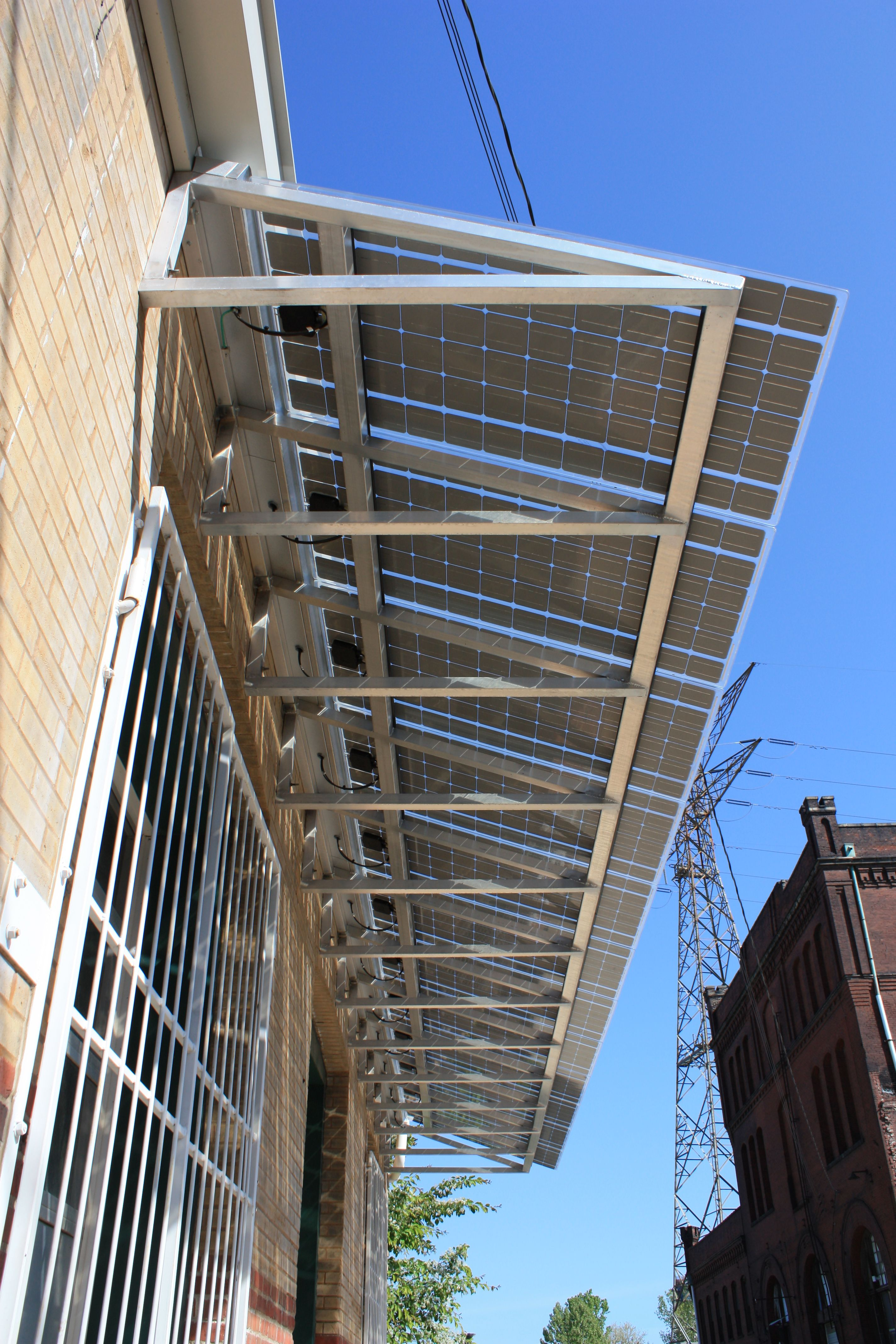 William A Kerr Foundation St Louis Mo Solar Awnings And New