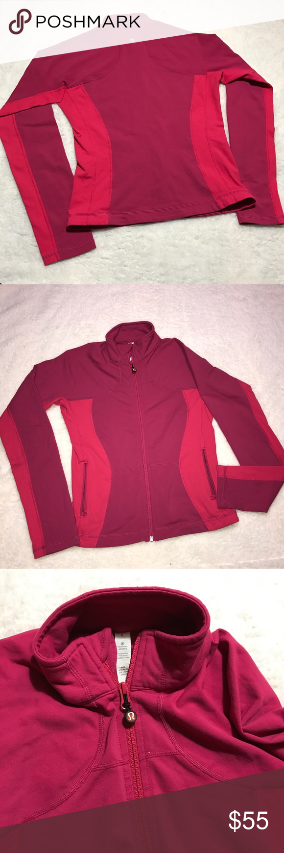 lululemon shape jacket coats stains and shape lululemon shape jacket excellent condition no rips stains pilling or flaws 🚫trades 🚫