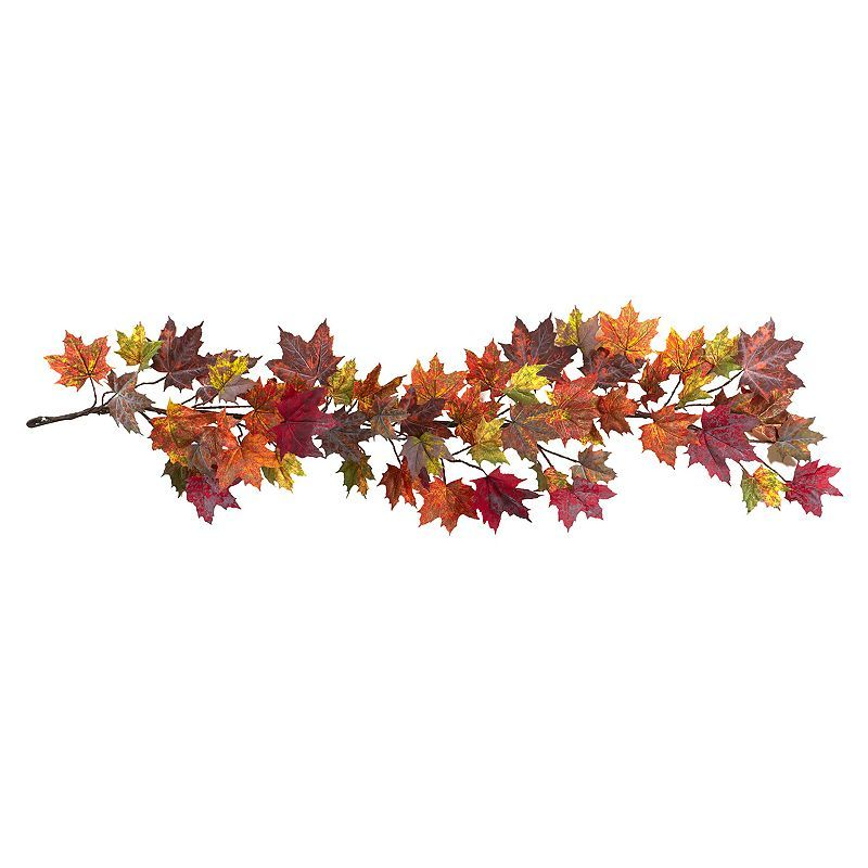 nearly natural Maple Leaf Garland, Orange