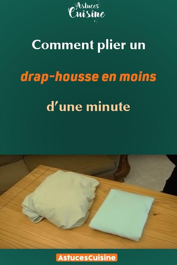 comment plier un drap housse en moins d une minute. Black Bedroom Furniture Sets. Home Design Ideas