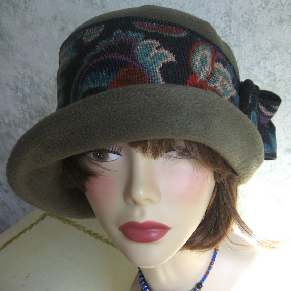 Vintage Womens Flapper Hat Pattern With Upcycled Trim Easy To Make ...