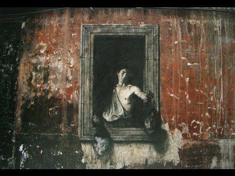 Naples: Classical Street Art by Ernest Pignon-Ernest - Davide e Golia - https://i.ytimg.com/vi/yz2KV2TjlH8/maxresdefault.jpg
