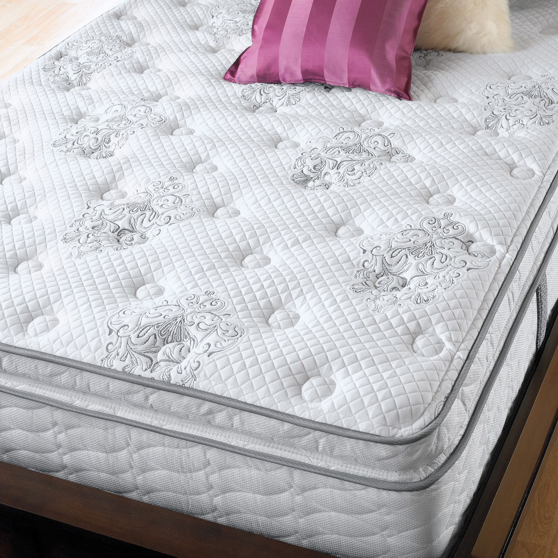 Serta Perfect Sleeper Danesmoor Plush Super Pillowtop